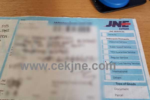 Cara Cek Nomor Resi JNE Kiriman Kab Aceh Tengah