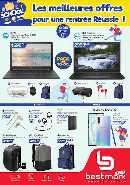 catalogue bestmark rentree scolaire septembre 2019