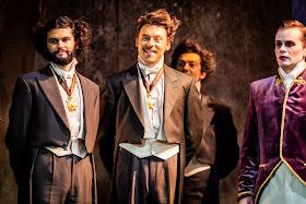 Rossini: La cenerentola - Liam Bonthrone & chorus - British Youth Opera (Photo Robert Workman)