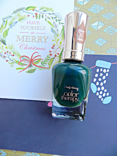 Sally Hansen Color Therapy Nail Polish Green
