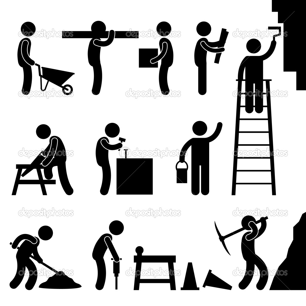 clipart man at work - photo #46