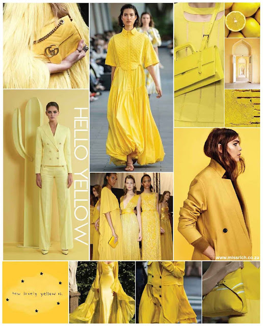 YELLOW COLOUR TREND