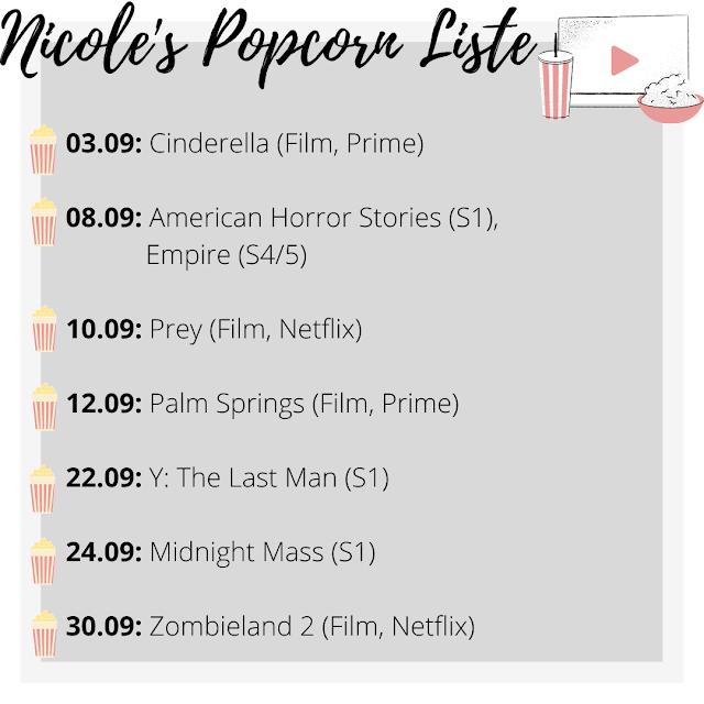 Popcorn Liste, Streaming Neuheiten, Filmblogger, Disney+, Netflix, Amazon Prime