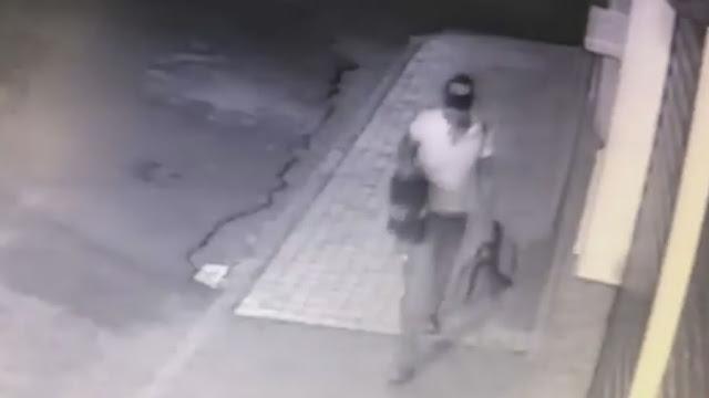 Ladrão furta ferramentas de dentro de veículo em Pinhal