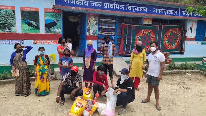 उत्तराखंड  में क्वारंटीन सेंटर रह रहे  लोगों की मदद के लिए हंस फाउंडेशन ने बढ़ाया हाथ*