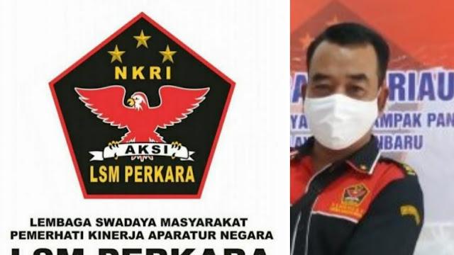 Ketua DPD LSM PERKARA Riau, Freddy : Terhitung Awal Tahun 2020 Jekson Bukan Sekretaris DPD LSM Perkara Riau Lagi