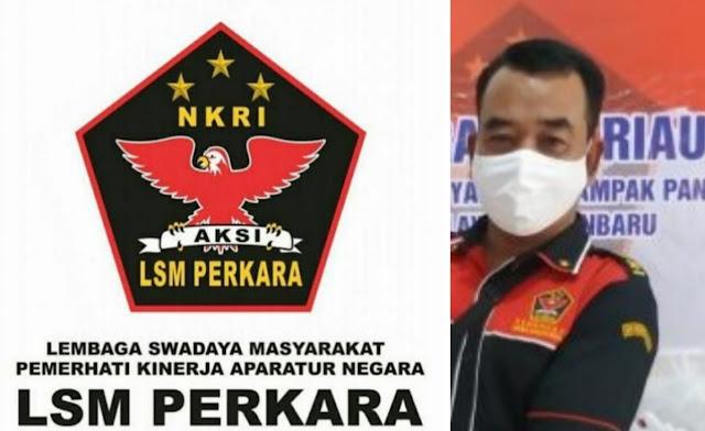 Ketua DPD LSM Perkara Riau, Freddy: Terhitung Awal Tahun 2020 Jekson Bukan Sekretaris DPD LSM Perkara Riau Lagi