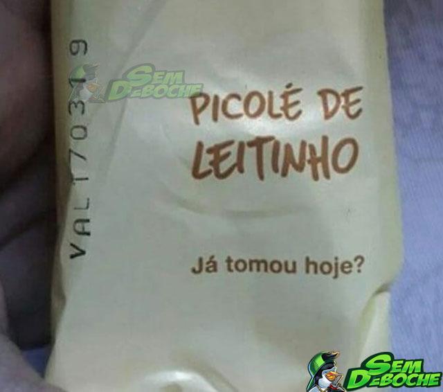 PICOLÉ DE LEITINHO