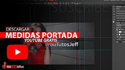 medidas banner youtube