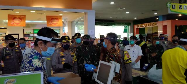 Kapolda Banten Tinjau Protokol Kesehatan di Citra Raya Tangerang