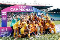 FÚTBOL - El Barcelona golea sin tapujos a la Real Sociedad para quedarse con la primera Supercopa de España