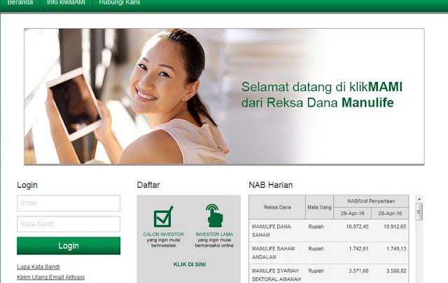 Mulai Investasi Reksa Dana Online Terpercaya KlikMAMI