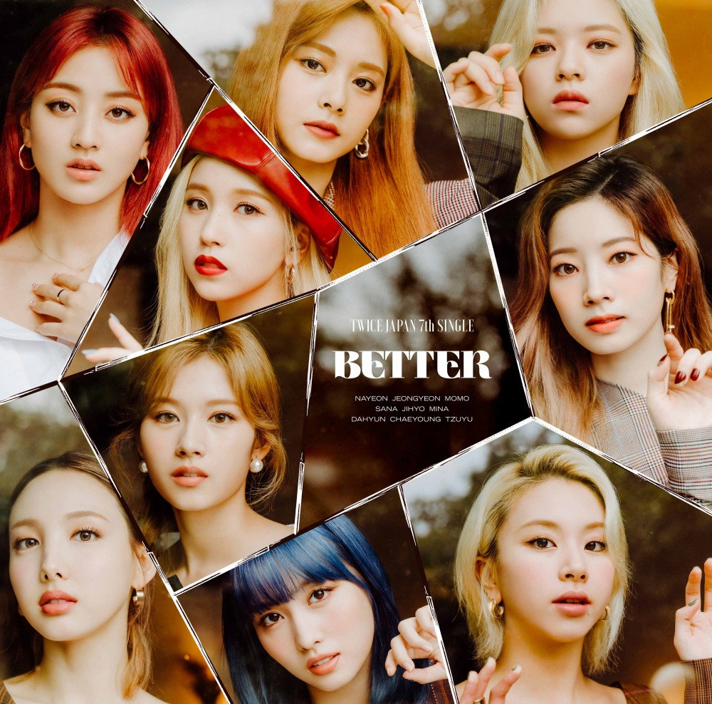 TWICE Looks Mature And Calm in Teaser Photos for Japanese Single 'BETTER'