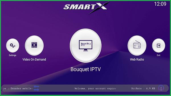 تحميل تطبيق Smart X لمشاهدة جميع القنوات الفضائية مع كود تفعيل صالح لمدة عام