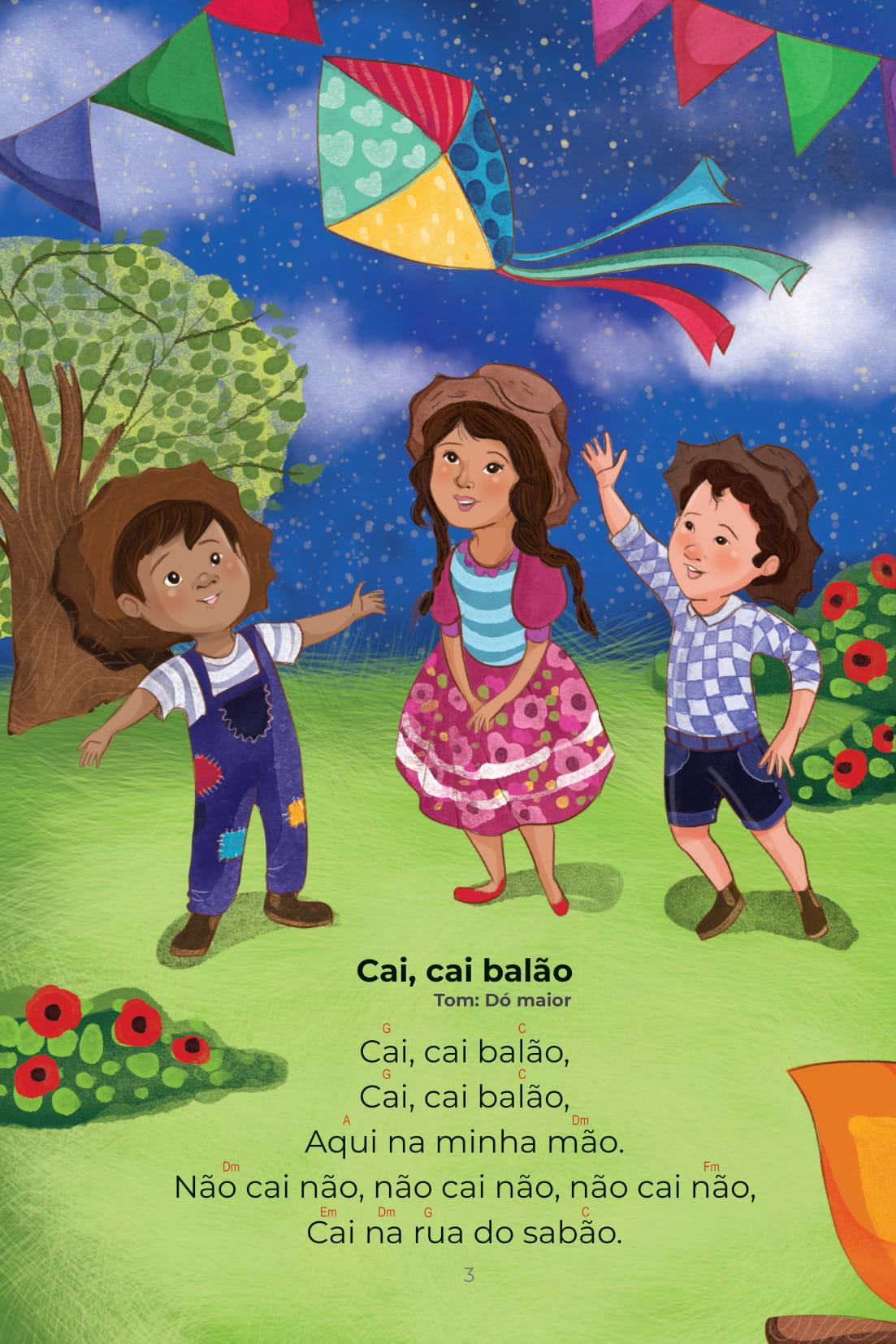 Cantigas Coleção Conta pra Mim Cai, Cai balão