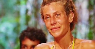 Paola Caruso piange