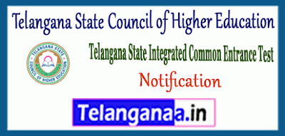 Telangana State Council of Higher Education Notification Application