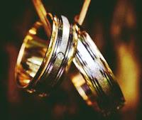 cincin nikah titanium model gold silver