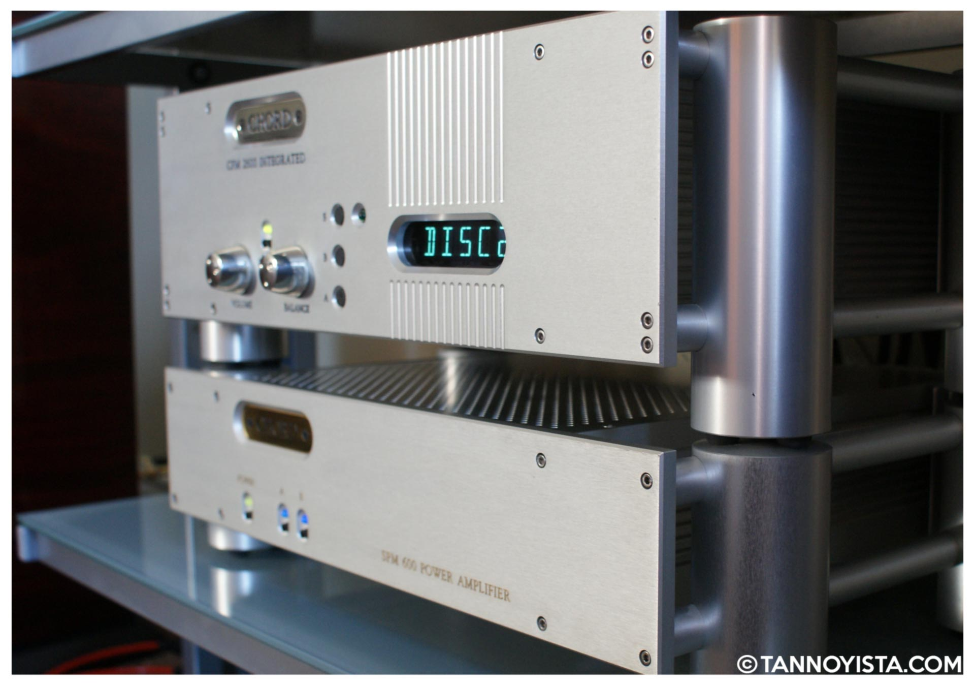 Chord amplifiers - SPM 2600 and SPM 600