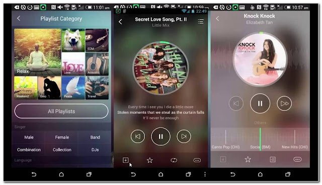 aplikasi musik online JOOX Musix