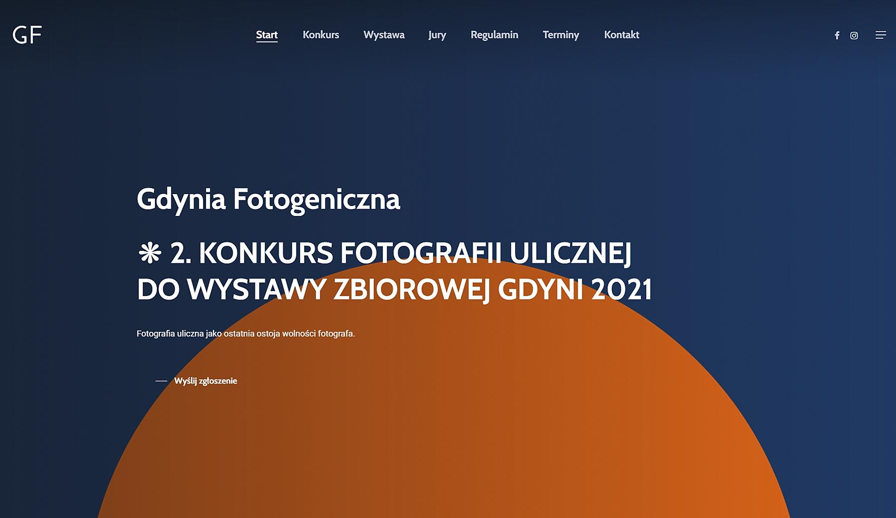 Gdynia Fotogeniczna - Strona internetowa