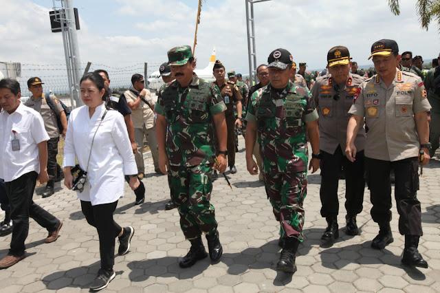 Panglima TNI Kunjungan Kerja ke Wilayah Indonesia Timur