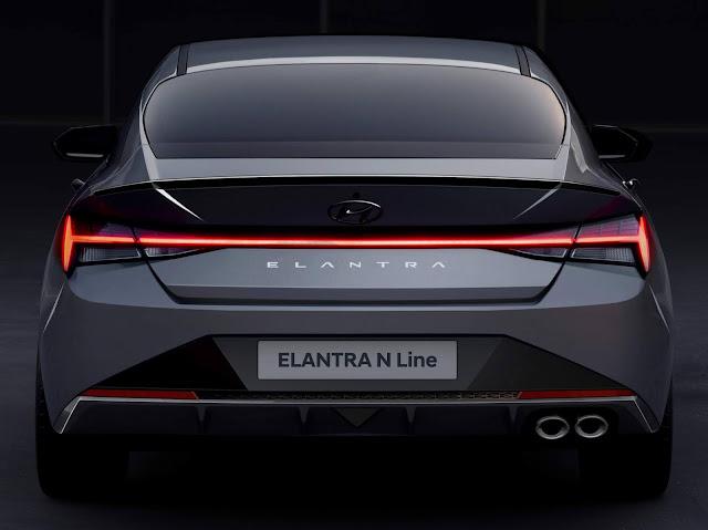 Novo Hyundai Elantra 2021 N-Line