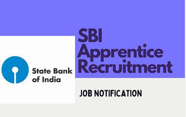 SBI Recruitment 2021 - Apply here for Apprentice Posts - 6100+ Vacancies - Last Date: 26.07.2021