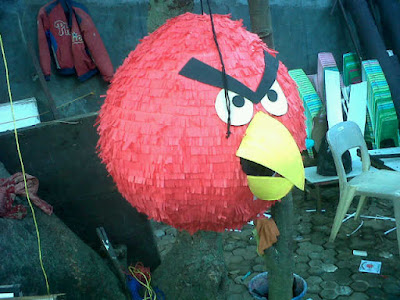 pinata ultah, pinata murah, pembuat pinata, Pinata / Piñata, Pinata Angry Birds