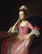 Dorothy Quincy (Mrs. John Hancock) | Museum of Fine Arts, Boston c1772 by John Singleton Copley