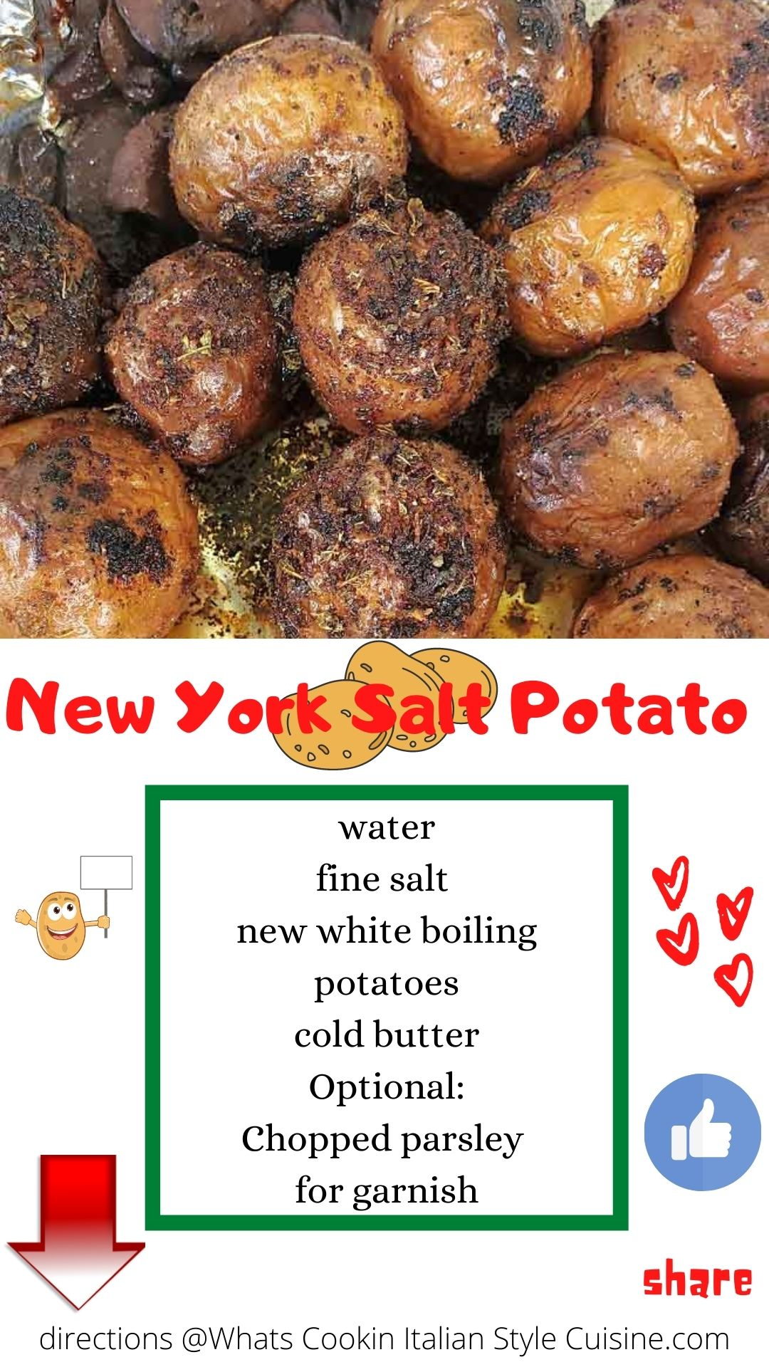 pin for later how to my new york style salt potatoes