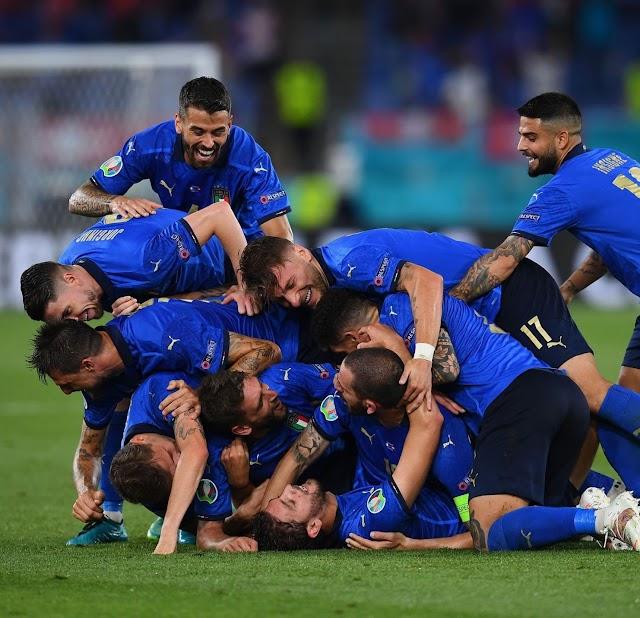 Ιταλία-Ισπανία 1-1 (4-2 στα πέναλτι): Πήρε το εισιτήριο για τον τελικό η σκουάντρα ατζούρα