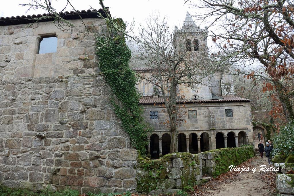 Claustro de Santa Cristina de Ribas de Sil