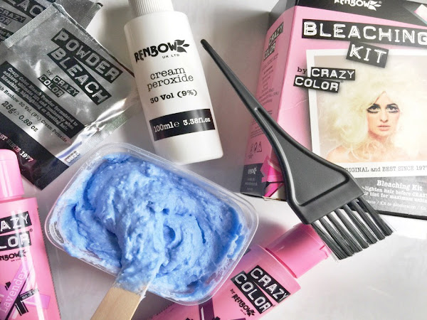 At Home Hair Colouring With Crazy Colour*