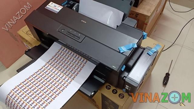 Đánh giá chi tiết máy in màu Epson L1800
