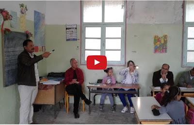 بالفيديو درس تجريبي لمادة القراءة المستوى الاول حسب الطريقة المقطعية 12 05 2017