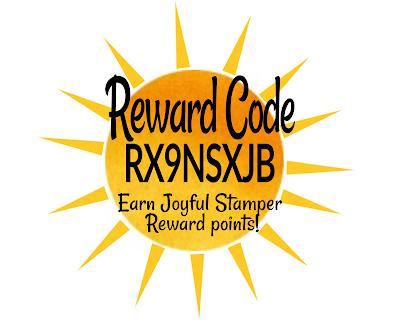 Host Code, Joyful Stamper Rewards, Stampin Up!, customer loyalty program, rewards program, craft supplies customer loyalty program, nicole steele, the joyful stamper, independent stampin' up! demonstrator, pittsburgh pa