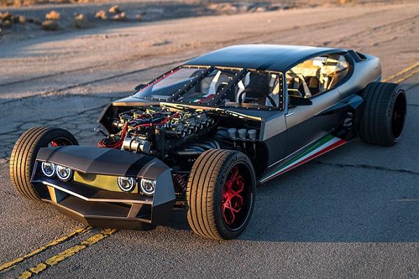Lamborghini Espada Hot Rod Danton Art Kustom