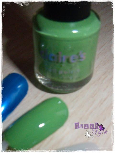 esmalte verde claires