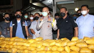 Polisi Mengaku Tak Tahu Kenapa Jaringan Timur Tengah Transaksi 201 kg Sabu di Petamburan