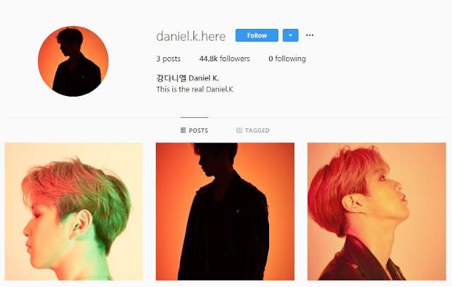 Kang Daniel Buat Akun Instagram Baru Setelah Konflik dengan Agensi