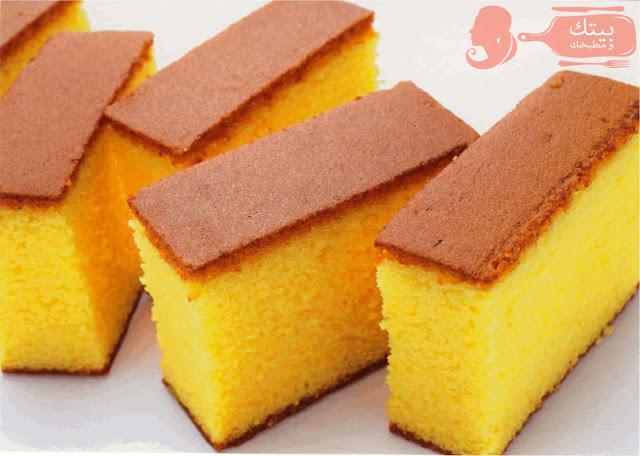 طريقة عمل الكيك البرتقال الهشة الرائعة جدا