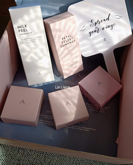Unboxing Althea Angels Welcome Gift Box