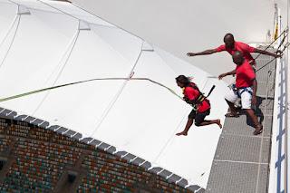 Bungee Jumping Moses Mabhida Stadium