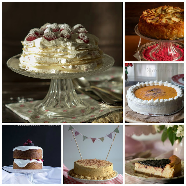 recopilatorio de tartas deliciosas para celebrar el día de la madre