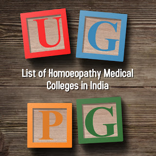 List of Government and Self Financing Homoeopathy Medical Colleges in India