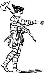 Bracatus totum corpus.