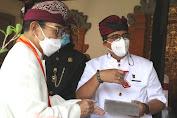 Bupati Sanjaya Apresiasi Pemberian Tanda Kehormatan kepada 4 Pejabat BPK RI oleh Puri Agung Tabanan