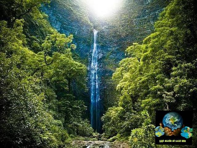 08. හනකාපායි දියඇල්ල, ක්වායි, හවායි, එක්සත් ජනපදය ( Hanakapiai Falls, Kauai, Hawaii, United States )