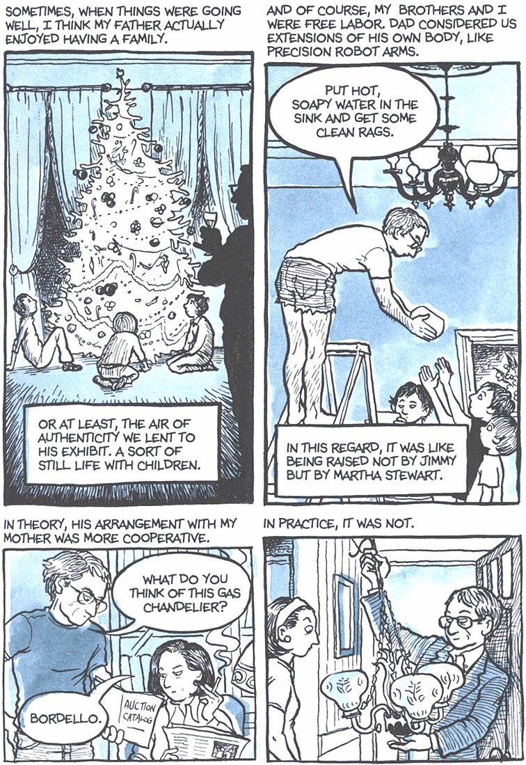 Read Fun Home: A Family Tragicomic - Chapter 1, Page 12